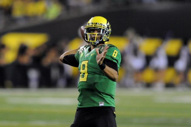 Oregon vs. Arizona State: Marcus Mariota Will Lead Domination of Sun Devils