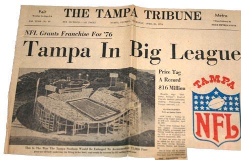 Tampa Bay Buccaneers Throwback Game Brings Throwback Memories