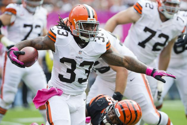 Trent Richardson: Why Browns RB Is a Must Start vs. Colts