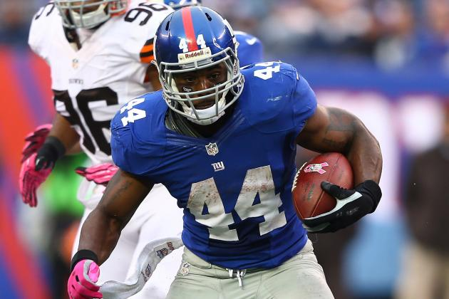 Ahmad Bradshaw: Giants RB Is a Solid Fantasy Starter Despite Injury