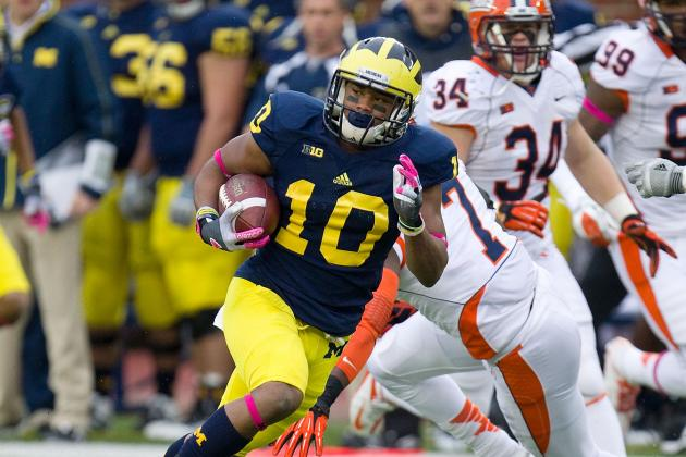Michigan Football: Jeremy Gallon Will Lead Wolverines to Huge Win over MSU