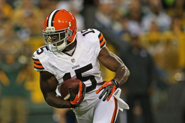 Browns WR Greg Little Misses Practice Today with Flu, Team Spokesman Says