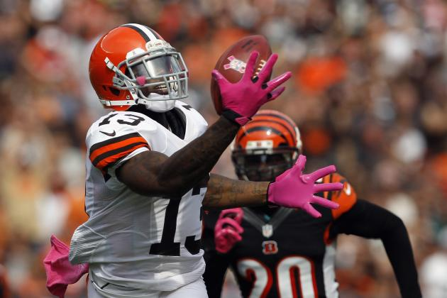 Josh Gordon: Why Browns WR Isn't Worth Spot Start in Week 7