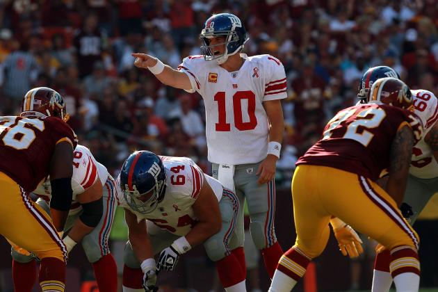 Washington Redskins vs. New York Giants: Sketching out a Game Plan for New York