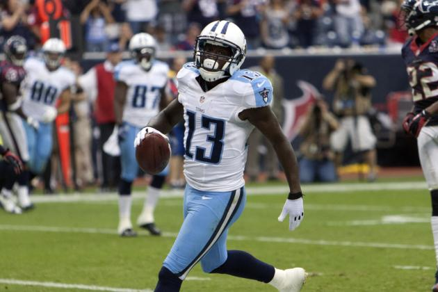 Kendall Wright: Why Rookie WR is Set to Break Out in Week 7