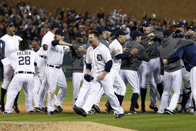Detroit Tigers Sweep Their Way into the World Series