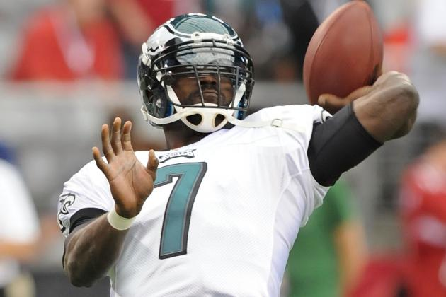 Report: Eagles Will Stick with Vick