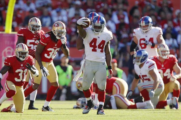 Breaking Down the Return of the New York Giants Running Game