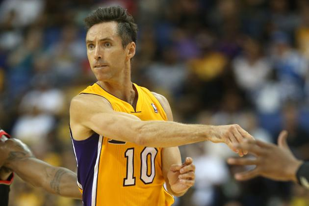 Is Steve Nash Still a Top-5 Point Guard Heading into 2012-13?