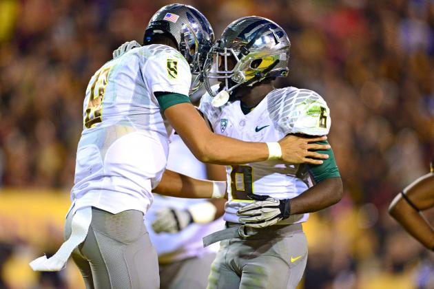 Oregon vs. ASU: Ducks Embarrass Sun Devils in 43-21 Rout