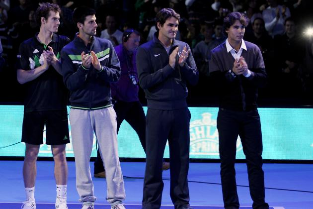 Men's Tennis: Which of the Big Four Had the Best 2012?