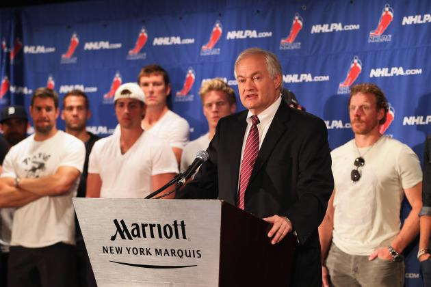 NHL Lockout Drags on Thanks to Fehr's and NHLPA's Ego
