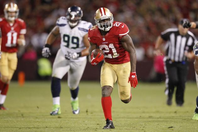 Frank Gore, San Francisco 49ers' Defense Hand Seahawks 3rd Division Loss