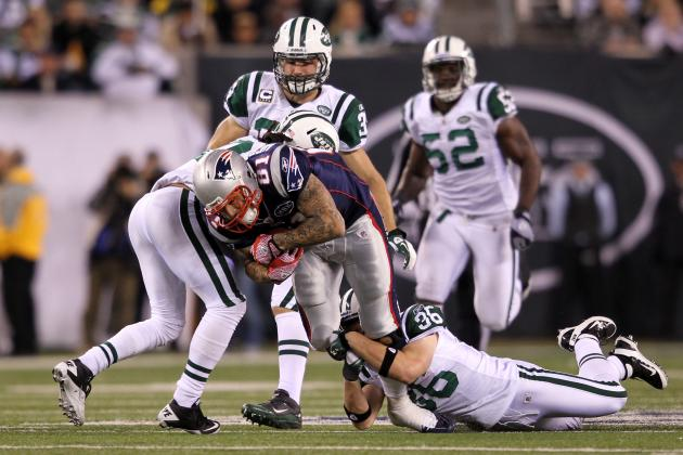 New York Jets Will Defend Patriots Tight Ends as a Team, and Other AFC East News