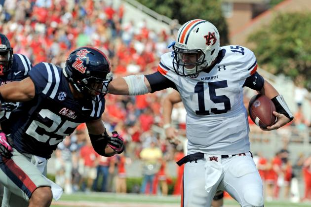 Auburn vs. Vanderbilt: Starting Clint Moseley at QB Is the Right Call for Tigers