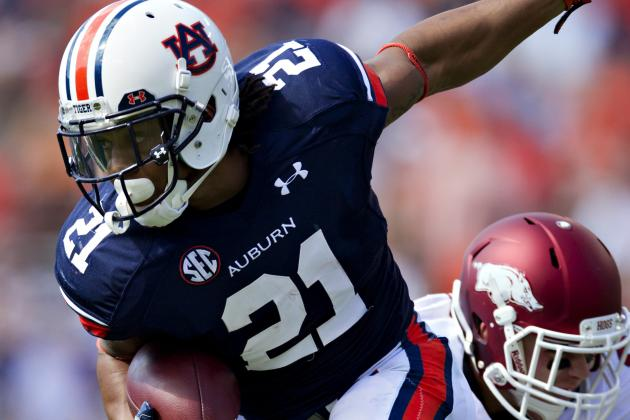 Auburn vs. Vanderbilt: Auburn Must Exploit Vanderbilt's Weakness in Run Defense