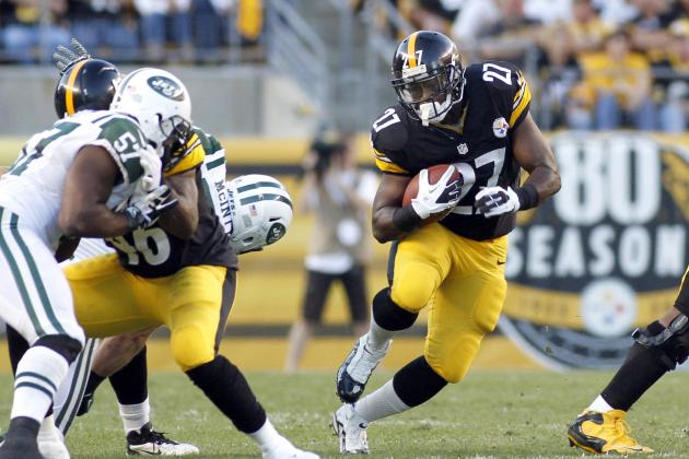 Jonathan Dwyer: Breaking Down Steelers RB's Fantasy Value vs. Bengals