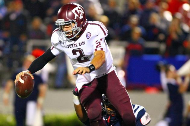 LSU vs. Texas A&M: Johnny Manziel Will Run Riot over Tiger Defense