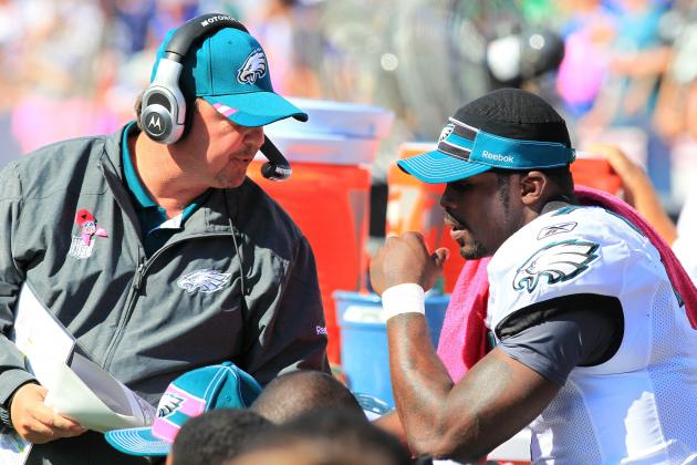 Eagles Reportedly Sticking with Vick and Mornhinweg, and More NFC East News
