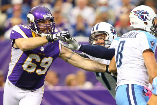 Jared Allen Has to Like Cardinals Matchup