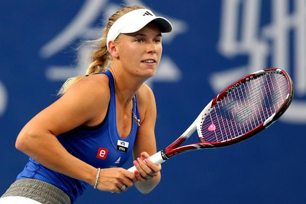 Caroline Wozniacki Sports Interesting Dress for Recent Match
