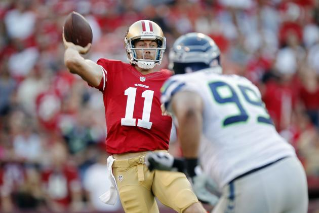 San Francisco 49ers: Alex Smith's Woes Continue in Week 7
