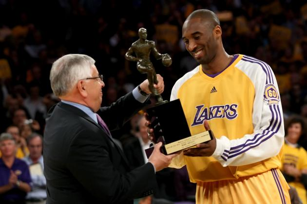 Kobe Bryant: Lakers Star a Lock to Win 2nd Career MVP