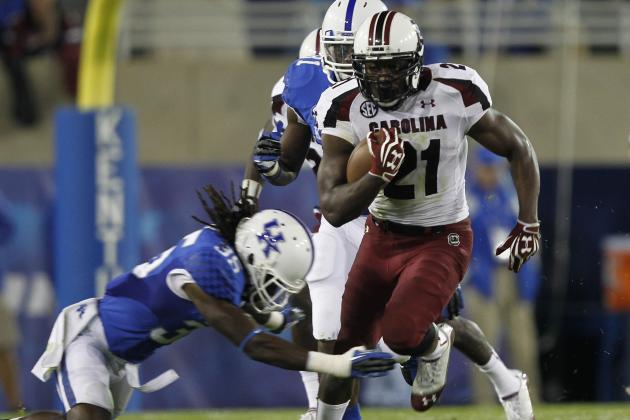 South Carolina vs. Florida: Why the Gamecocks Can Win Without Marcus Lattimore