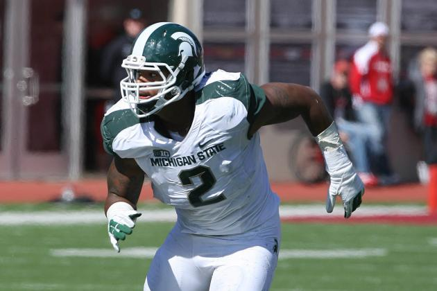 Michigan State DE William Gholston Fights 'dirty' Tag