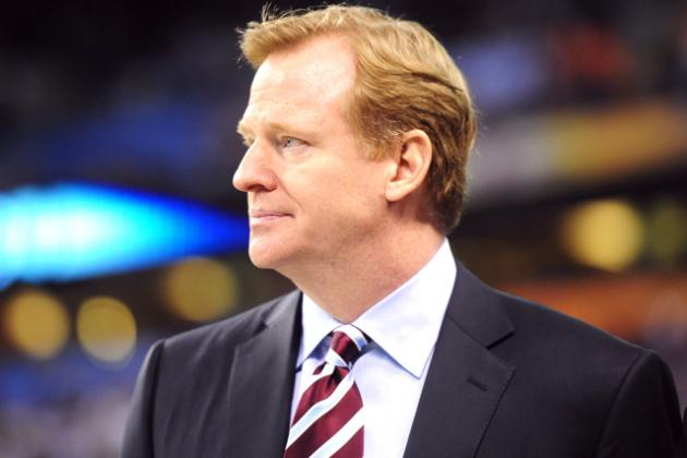 Roger Goodell to Recuse Himself from Saints Bounty Appeal