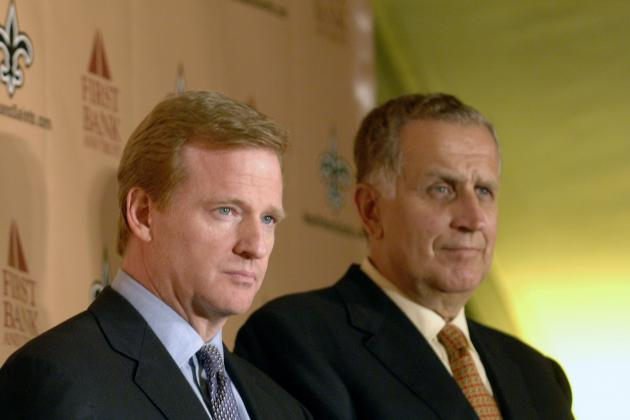 Saints Bountygate Appeal: Goodell Deferring to Tagliabue Saves NFL's Image