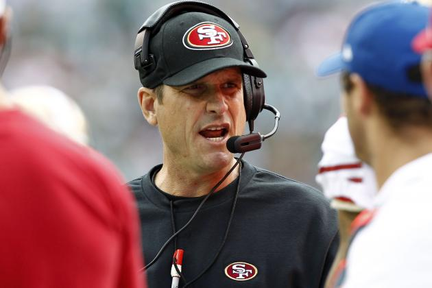 49ers' Jim Harbaugh Sways $75 Million in Bets Thanks to Safety Call