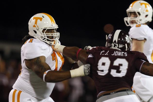 Vols' Offensive Line a Strength of Team
