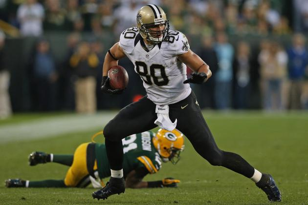Jimmy Graham: Backup Plans If Saints Star Tight End Misses Action