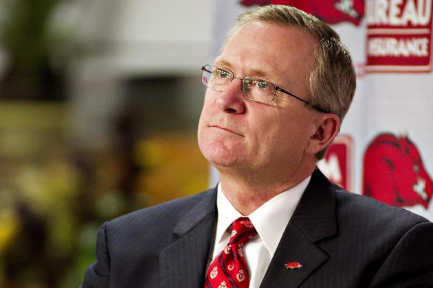 Next Razorback Football Coach Facing 'Challenges,' Including 2013 Schedule