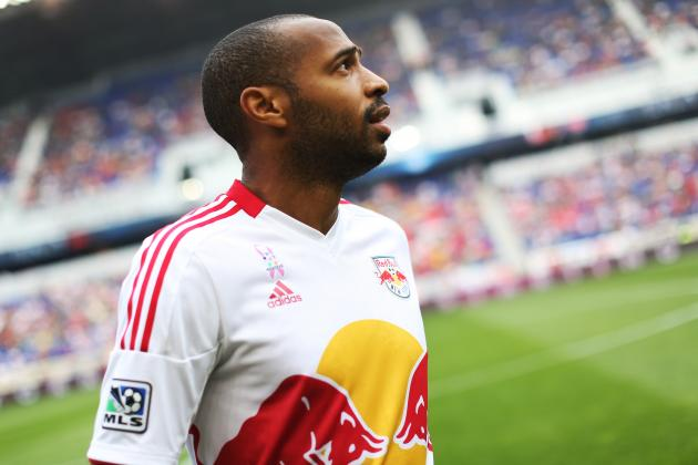 Thierry Henry and New York Red Bulls Face Crucial Match vs. Sporting Kansas City