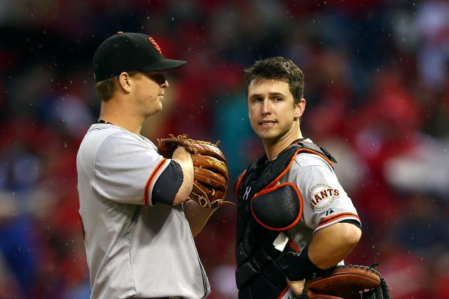 Buster Posey Returns to Batting Cleanup for Game 5 of NLCS