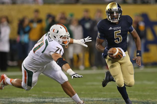 Notre Dame Football: Why Everett Golson Will Lead ND Past BYU
