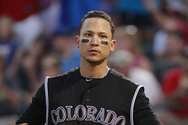 Boston Red Sox Should Trade for Colorado Rockies' Carlos Gonzalez