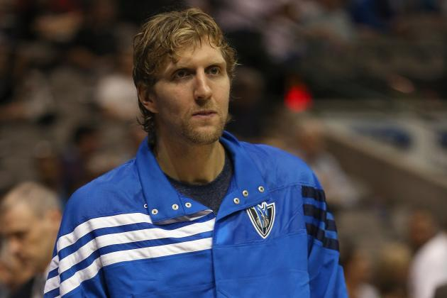 Fantasy Basketball:  Dirk Nowitzki out 6 Weeks After Arthroscopic Knee Surgery