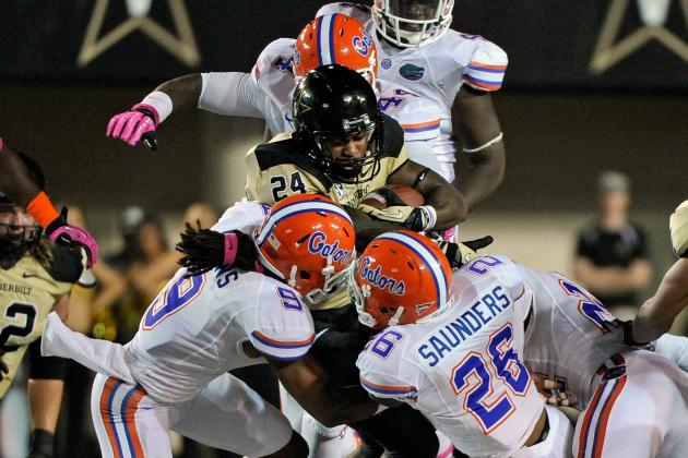 ESPN College Gameday 2012: Florida Defense Will Overpower South Carolina Offense