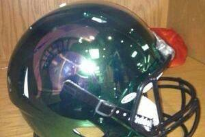Michigan State's Mark Hollis Mum on Spartans Potentially Wearing New Helmets