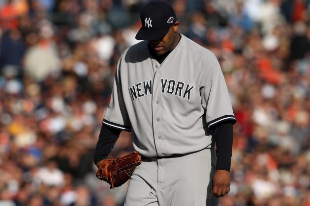 Yankees Want CC Sabathia's Elbow Checked out in Offseason