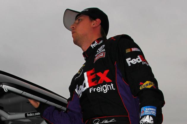Hamlin '100 Percent' Day After Testing Crash