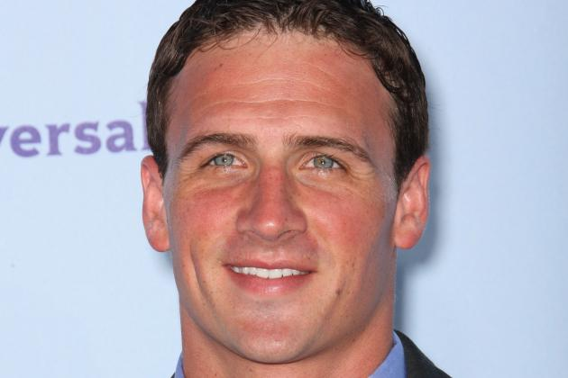 Lochte Takes on '30 Rock'