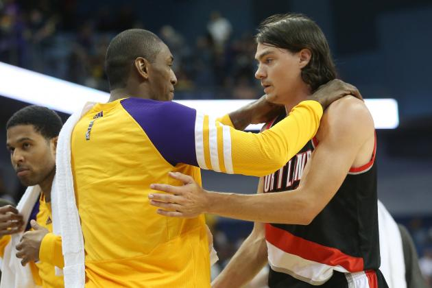 Adam Morrison Scores 9 Points in 11 Minutes for Blazers (Video)