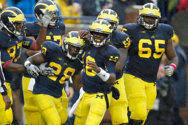 Michigan Football: Key Matchups to Watch for Against Michigan State