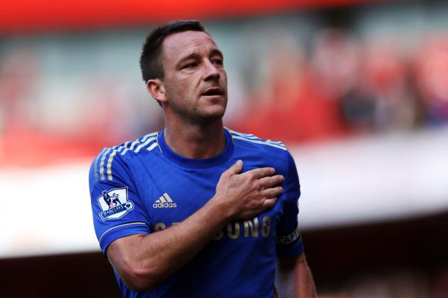 John Terry: Chelsea Star Will Remain Blues' Captain Despite Fine, Suspension