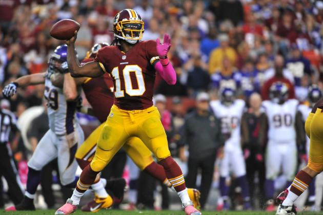 Robert Griffin III: Projecting Redskins QB's Fantasy Value vs. Giants