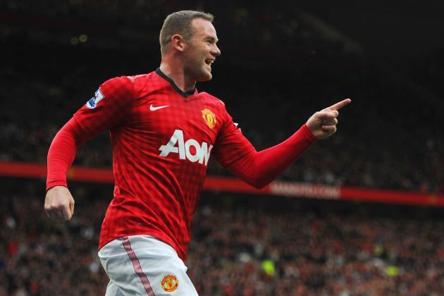 Manchester United vs. Stoke: Wayne Rooney's Resurgence Promising for Red Devils